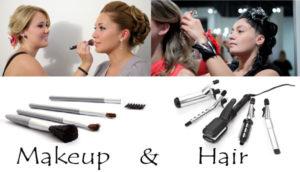 wedding makeup artist and hair stylist
