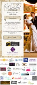 UCF Bridal Show Flyer