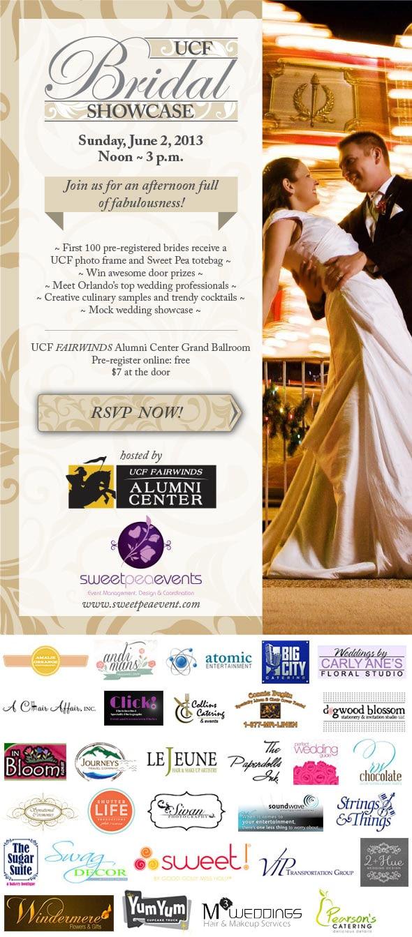 UCF Bridal Show Flyer